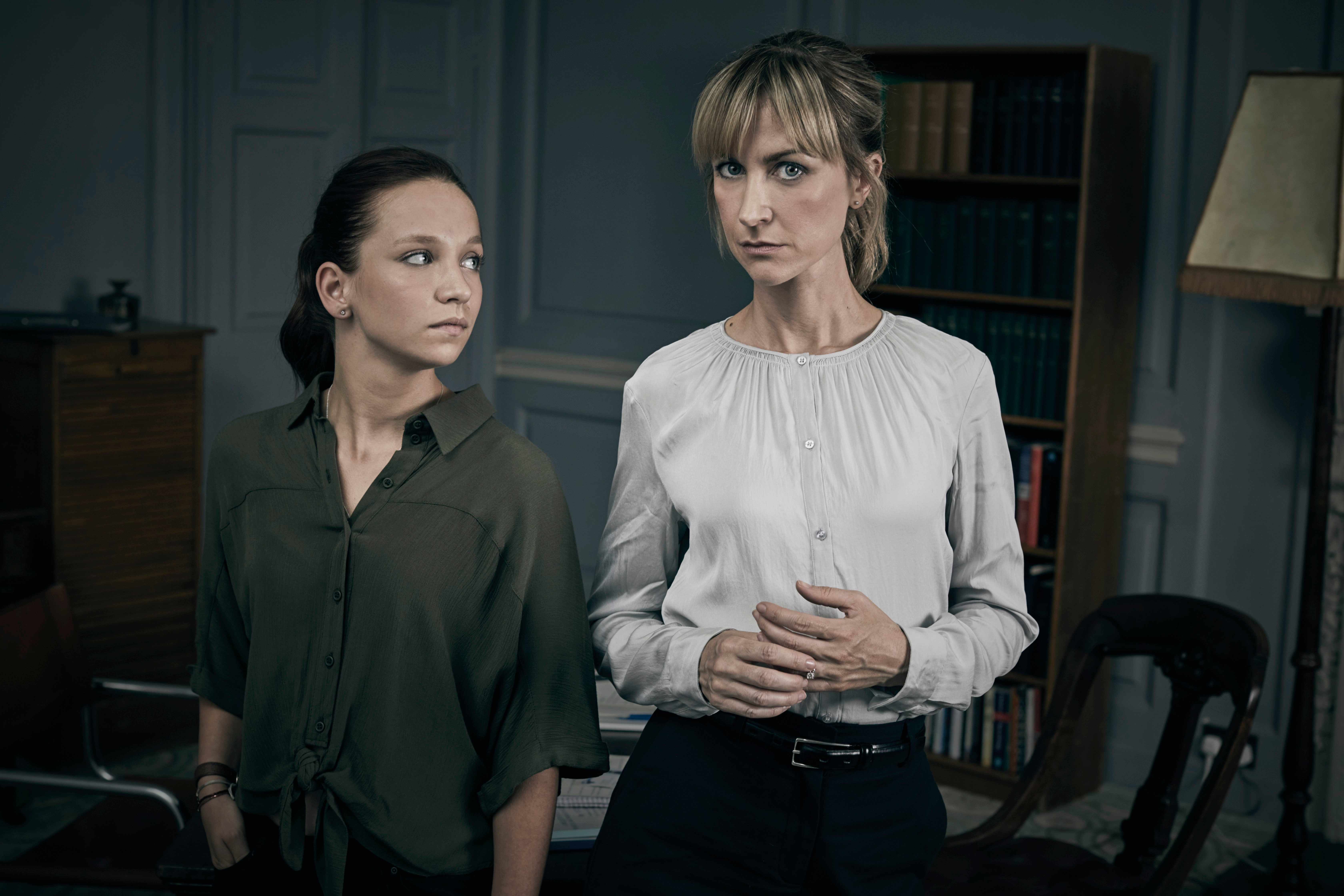 Katherine Kelly and Molly Windsor in Cheat on ITV