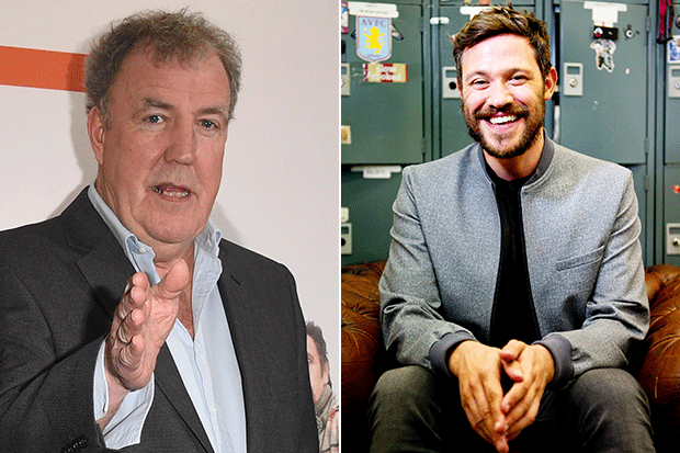 Jeremy Clarkson and Will Young, Getty