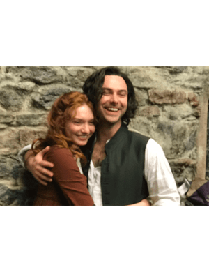 Poldark finishes filming, Twitter @PoldarkTV