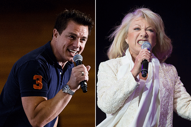 John Barrowman and Elaine Paige, Getty