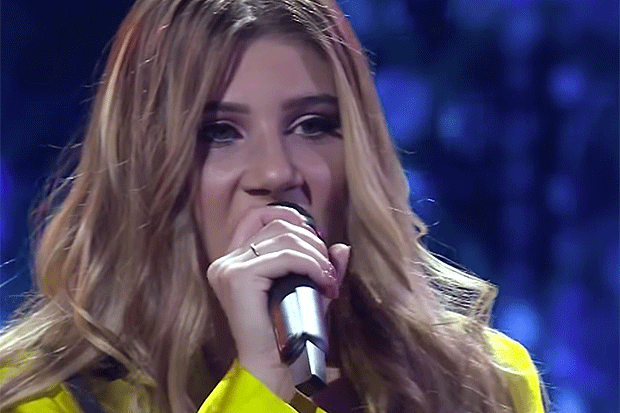 Michela Pace, X Factor YouTube screengrab