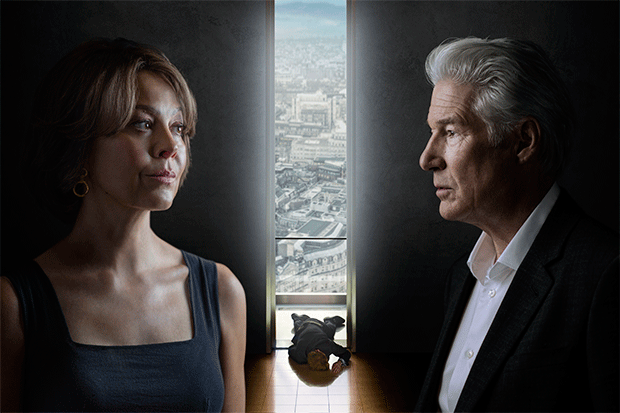 Helen McCrory and Richard Gere in MotherFatherSon, BBC Pictures