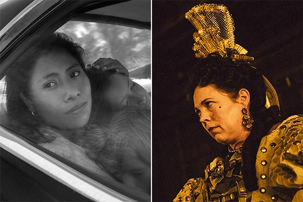 Oscar nominations Roma and The Favourite, SL