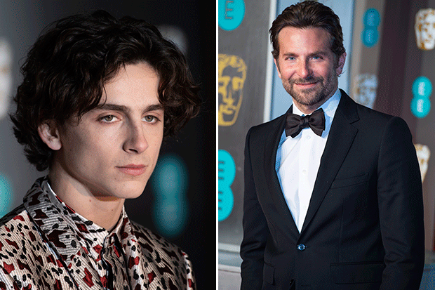 Oscars nomination snubs - Timothee Chalamet and Bradley Cooper, Getty