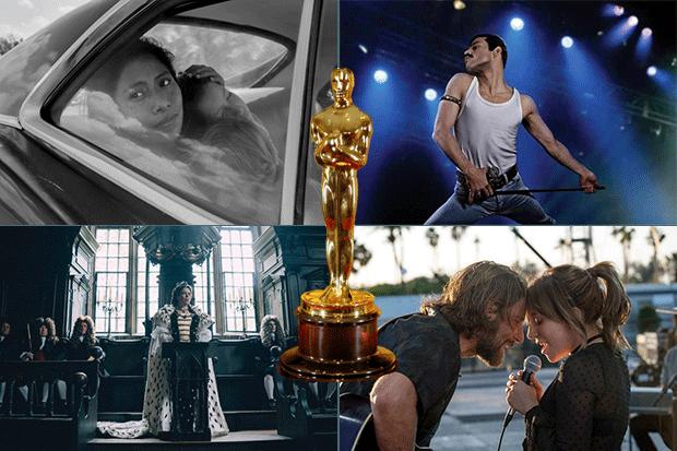 Oscar winners, Getty