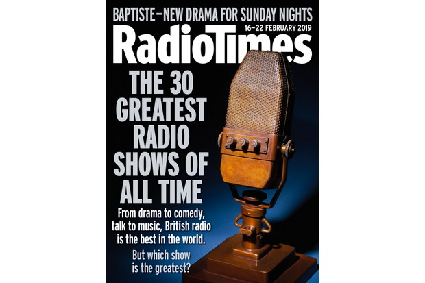 Radio Times cover: Greatest radio show of all time