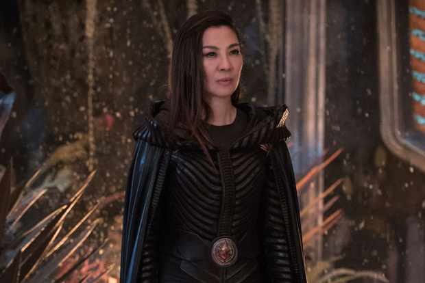 Michelle Yeoh plays Philippa Georgiou in Star Trek: Discovery
