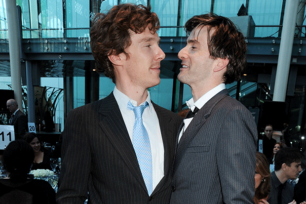 David Tennant and Benedict Cumberbatch, Getty