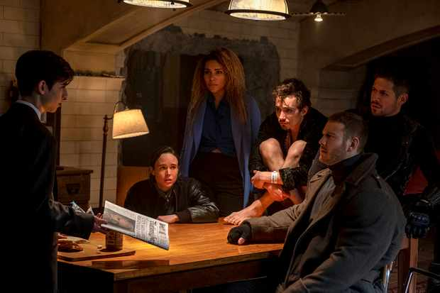 The Umbrella Academy Netflix cast