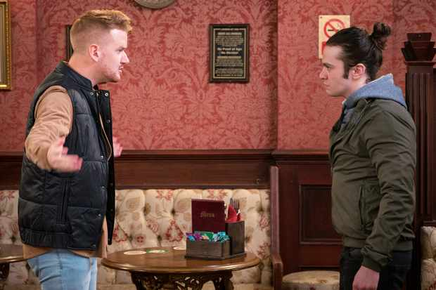 Coronation Street, Gary Windass, Seb Franklin
