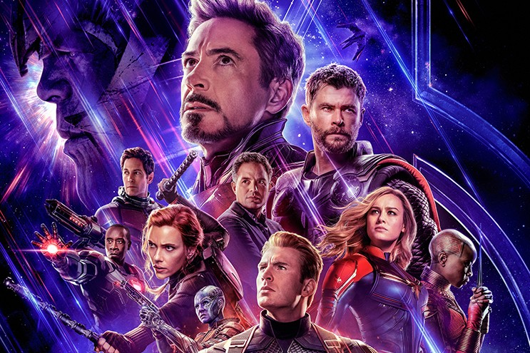 A poster for Avengers: Endgame (Disney)
