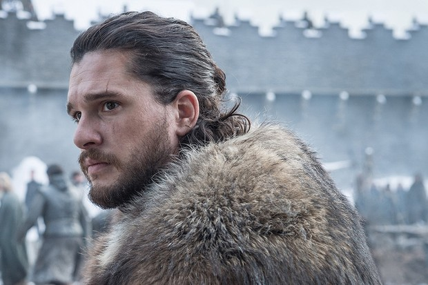 Kit Harington as Jon Snow in Game of Thrones season 8 (HBO)