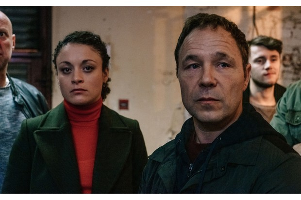 WARNING: Embargoed for publication until 00:00:01 on 26/03/2019 - Programme Name: Line of Duty - Series 5 - TX: n/a - Episode: Line Of Duty S5 - Episode 1 (No. 1) - Picture Shows: ***EMBARGOED TILL 00:01 26TH MARCH 2019*** McQueen (ROCHENDA SANDALL), Corbett (STEPHEN GRAHAM) - (C) World Productions - Photographer: Aiden Monaghan