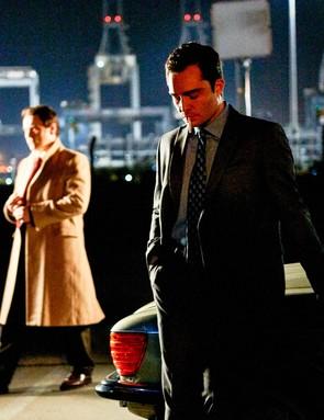 Lee Ross is Ronnie, Ed Westwick is Vincent (C) ©Fudge Park - Photographer: Adam Lawrence