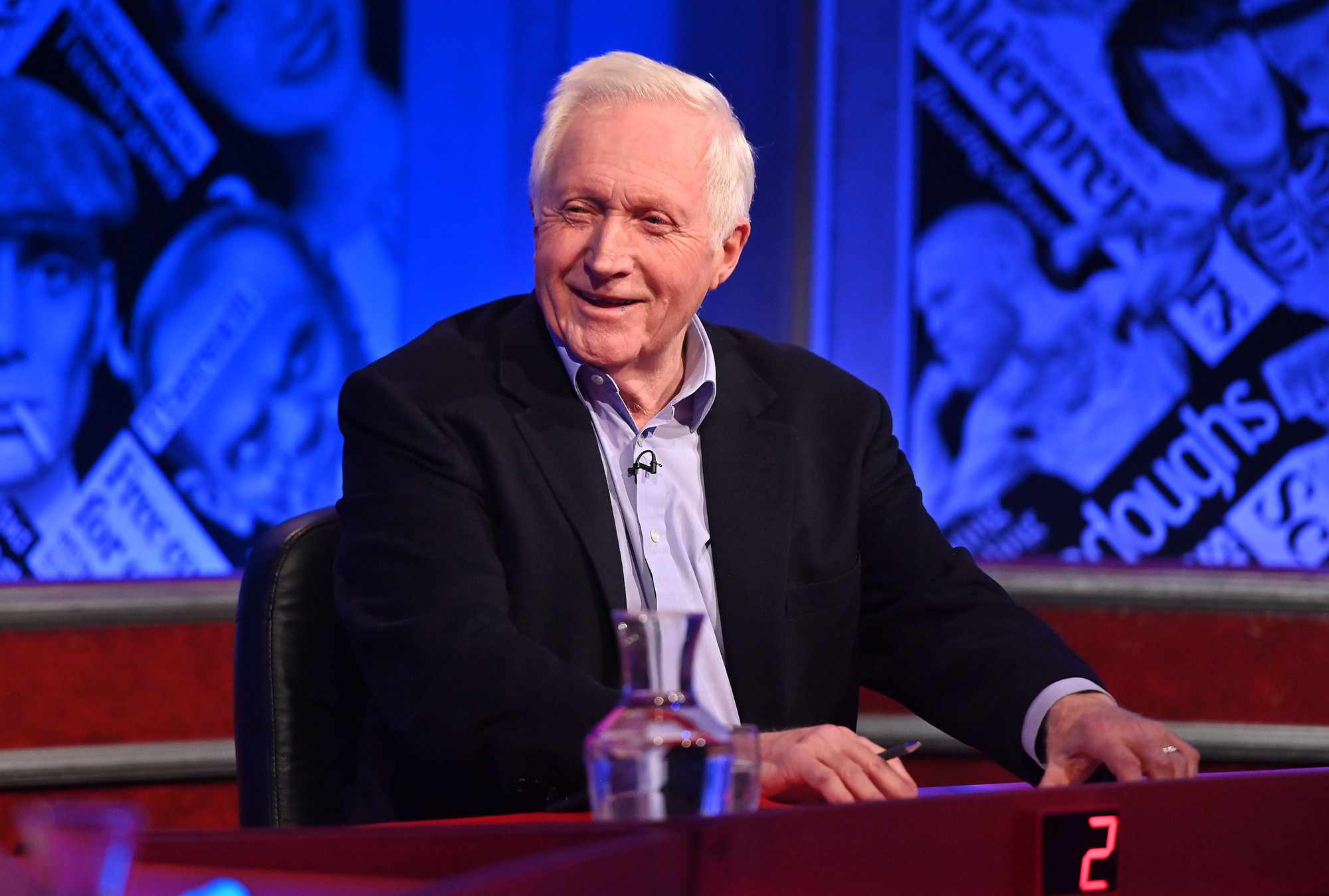 David Dimbleby hosts Have I Got News For You (Hat Trick Productions)