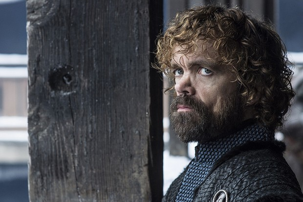 Peter Dinklage as Tyrion Lannister in Game of Thrones season 8 (HBO)
