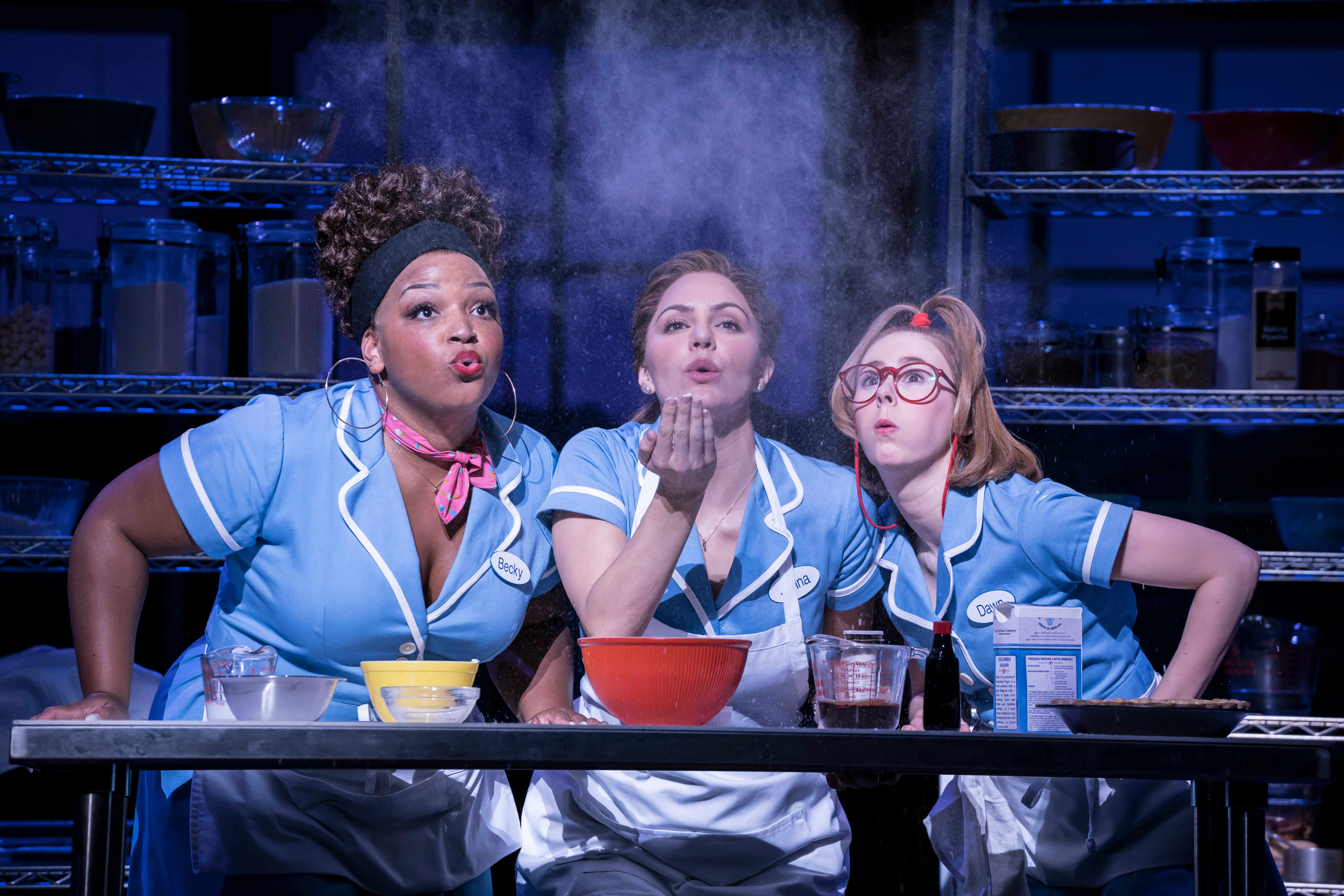 WAITRESS by Bareilles ;Directed by Diane Paulus ;Design by Scott Pask ;Lighting by Christopher Akerlind ;at The Adelphi Theatre ;February 7 2019 ;Credit : Johan Persson