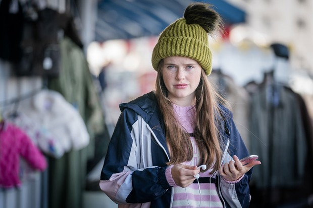 Imogen King plays Abbie Armstrong (ITV Pictures)