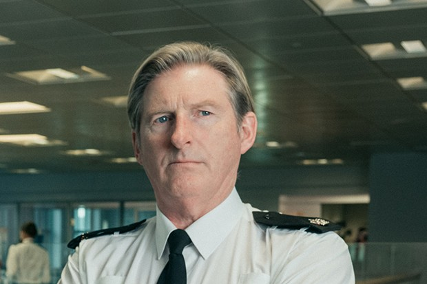 Adrian Dunbar plays Supt. Ted Hastings in Line of Duty - Series 5