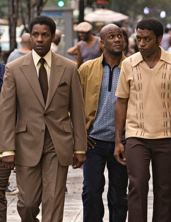 American Gangster – Denzel Washington and Chiwetel Ejiofor star in this 2007 film based on the criminal career of Frank Lucas – released Wednesday 17th April