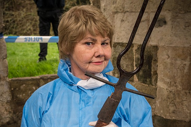 Annette Badland plays Fleur Perkins in Midsomer Murders