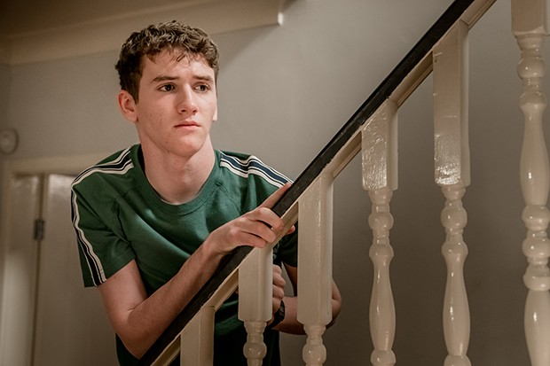 Art Parkinson plays Rob Armstrong in The Bay