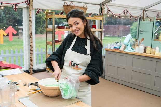 Michelle Keegan on Celebrity Bake Off (C4)