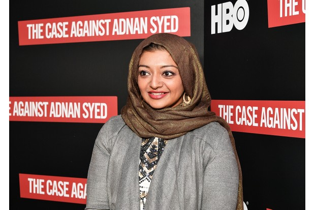 Rabia Chaudry is a key participant in new documentary The Case Against Adnan Syed (Getty)