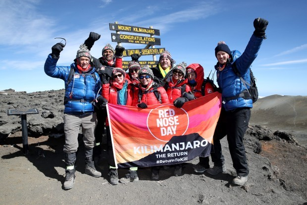 'Kilimanjaro: The Return' for Red Nose Day