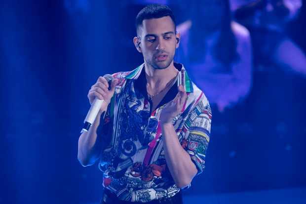 Italian egyptian singer an winner of the Music Festival Mahmood during the episode of Domenica In dedicated to 69th Sanremo Music Festival. Sanremo (Italy), February 10th, 2019 (Photo by Marco Piraccini/Archivio Marco Piraccini/Mondadori Portfolio)