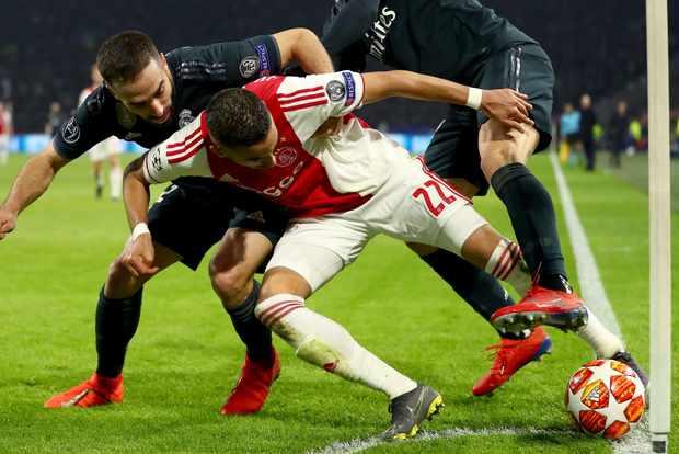 Ajax Real Madrid
