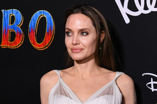 "LOS ANGELES, CALIFORNIA - MARCH 11: Angelina Jolie attends the premiere of Disney's ""Dumbo"" at El Capitan Theatre on March 11, 2019 in Los Angeles, California. (Photo by Emma McIntyre/Getty Images)"