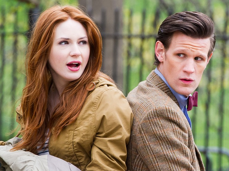 """Karen Gillan wishes she could """"redo"""" her acting on Doctor Who series 5"""