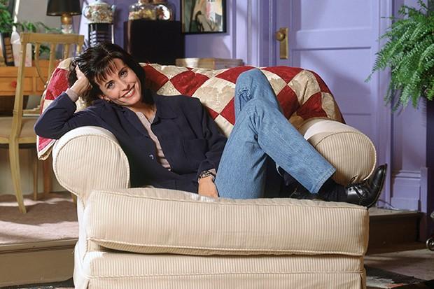 Courteney Cox as Monica in Friends