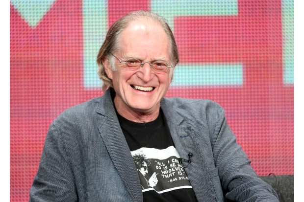 """BEVERLY HILLS, CA - JULY 25: Actor David Bradley speaks onstage at the """"An Adventure In Space And Time"""" panel discussion during the BBC America portion of the 2013 Summer Television Critics Association tour - Day 2 at the Beverly Hilton Hotel on July 25, 2013 in Beverly Hills, California. (Photo by Frederick M. Brown/Getty Images)"""