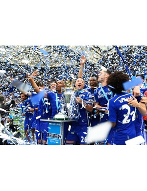 2014/2015 Premier League winners - Chelsea (Photo by Mike Hewitt/Getty Images)