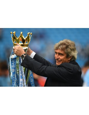 2013/2014 Premier League winners - Manchester City (Photo by Shaun Botterill/Getty Images)