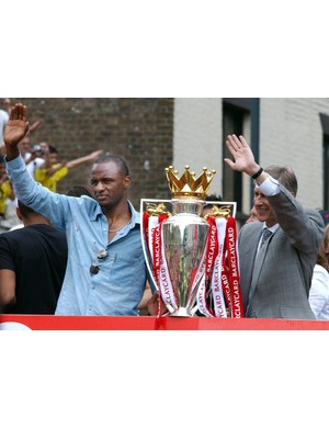 2003/2004 Premier League winners - Arsenal (MARTYN HAYHOW/AFP/Getty Images)