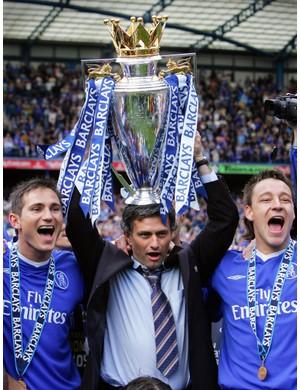 2004/2005 Premier League winners - Chelsea  (ADRIAN DENNIS/AFP/Getty Images)