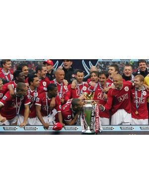 2006/2007 Premier League winners - Manchester United  (PAUL ELLIS/AFP/Getty Images)