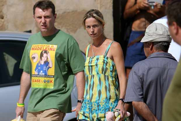 Kate and Gerry McCann (Getty)