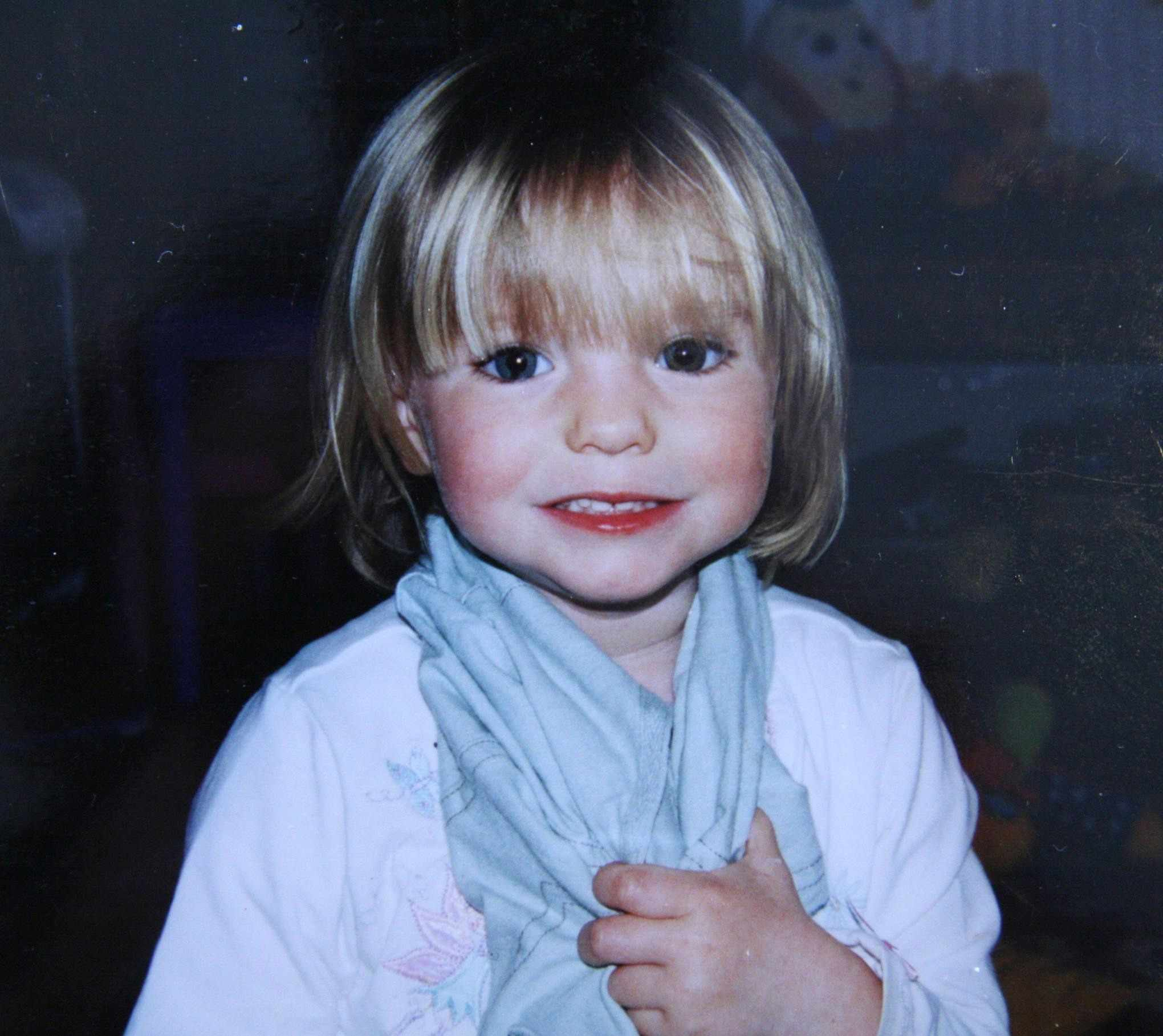 Madeline McCann (Getty)