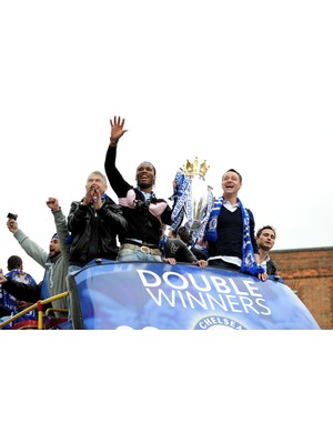 2009/2010 Premier League winners - Chelsea  (Photo by Shaun Botterill/Getty Images)