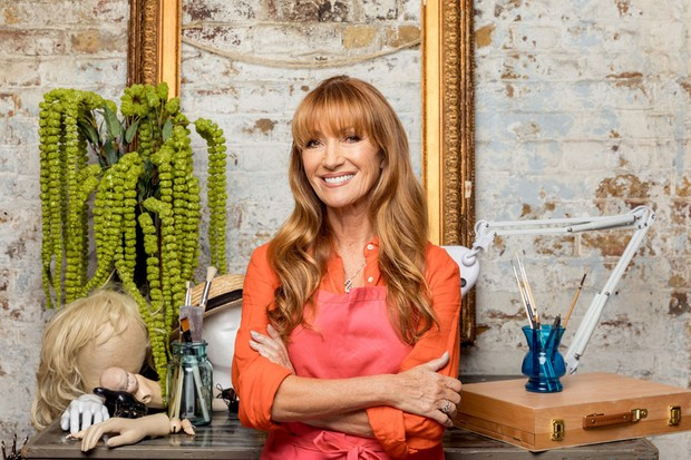 Jane Seymour in Celebrity Painting Challenge (BBC Pictures)