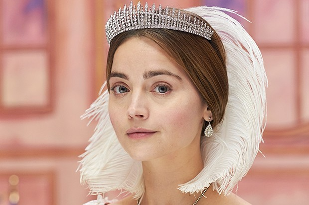 Jenna Coleman plays Queen Victoria