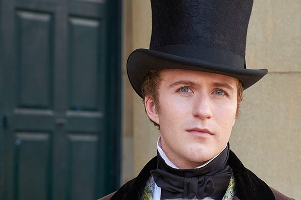Jordan Waller plays Lord Alfred Paget in Victoria