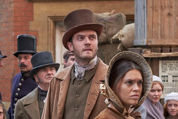 Kerr Logan plays Patrick Fitzgerald in Victoria