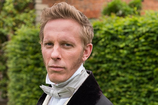 Laurence Fox plays Foreign Secretary Lord Palmerston in Victoria