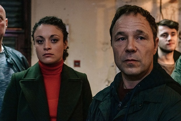 Line of Duty - Lisa McQueen and John Corbett