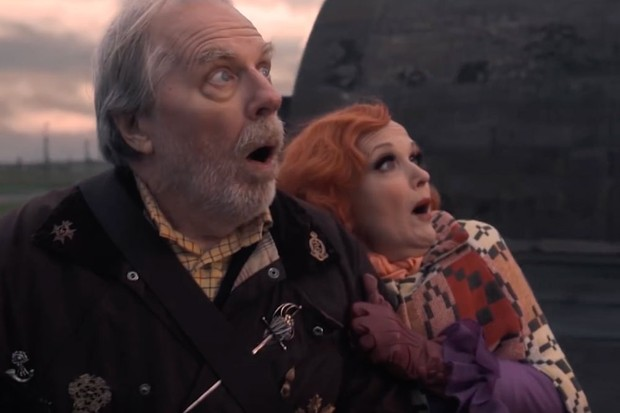 Michael McKean plays Witchfinder Sergeant Shadwell and Miranda Richardson plays Madame Tracy